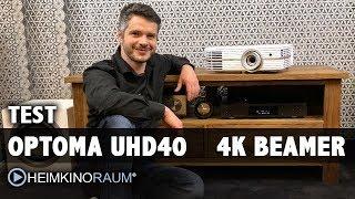 Test: Optoma UHD40 4K Beamer mit HDR für unter 1.500 Euro