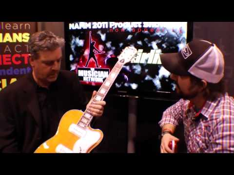 W NAMM 2011: EASTWOOD GUITARS - AIRLINE