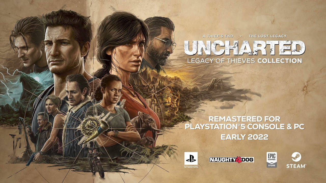 PS5『Uncharted: Legacy of Thieves Collection』PlayStation Showcase 2021