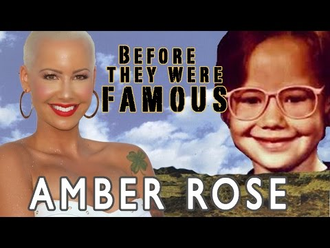 Amber Rose - Before They Were Famous