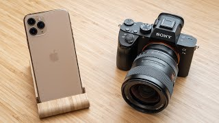 Download iPhone 11 Pro vs Sony A7III - How Pro is the Pro? Mp3 and Videos