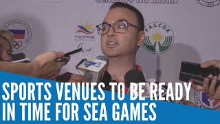 Sports Venues To Be Ready In Time For Sea Games