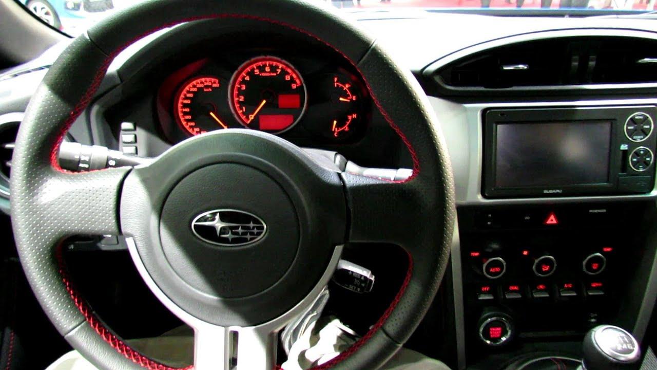 2013 subaru brz interior 2012 paris auto show youtube vanachro Images