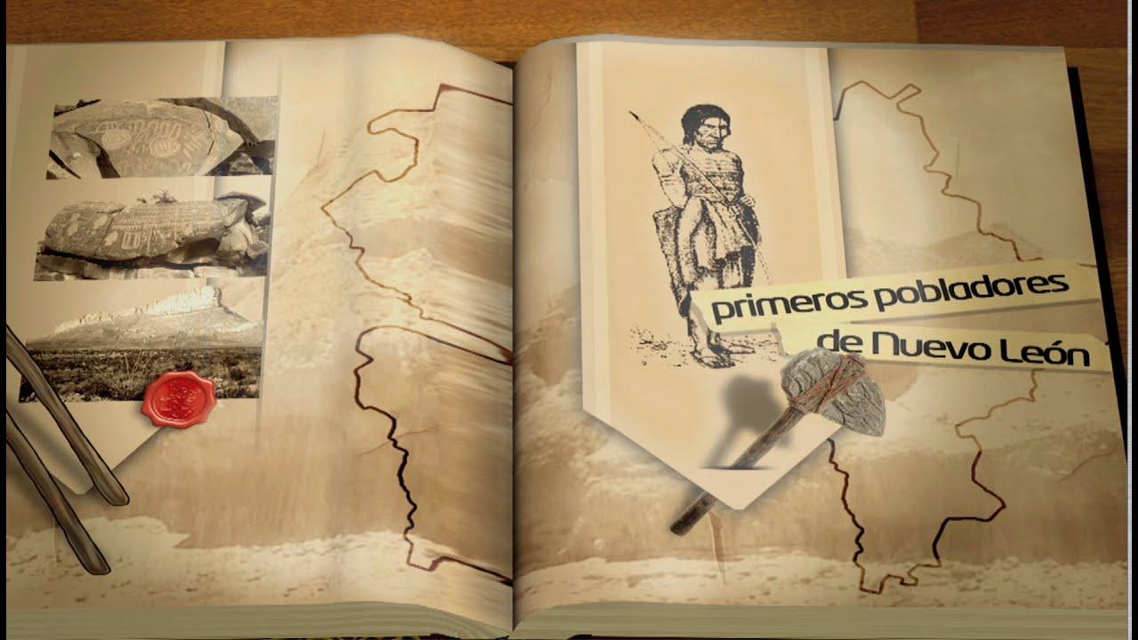 """EL LIBRO DE NUEVO LEON """"Primeros Pobladores de Nuevo León"""