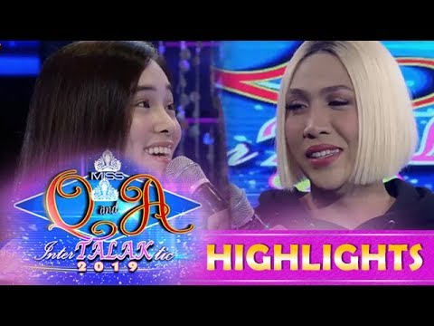 It's Showtime Miss Q & A: Jackque wants Vice Ganda's whole heart