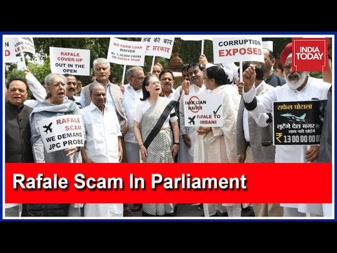 Congress And Other Opposition Parties Went Against The Centre Over The Rafale Deal