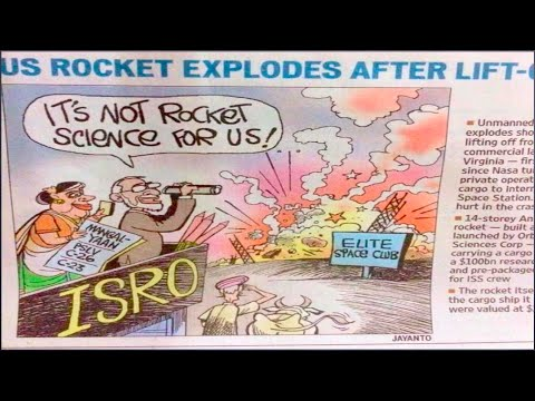 Hindustan Times Reply to The NYT for insulting India and ISRO