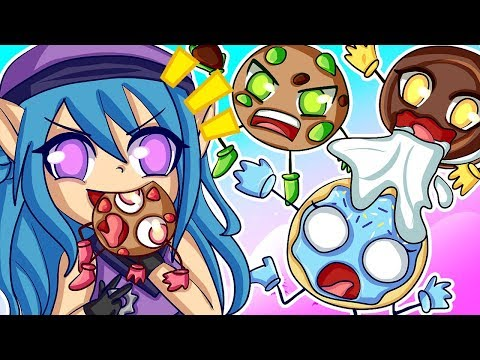 Cookies vs Claus - SHES A EVIL MONSTER! (Funny Moments)