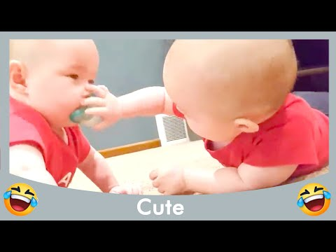 Fun and Fails Baby Siblings Playing Together #10