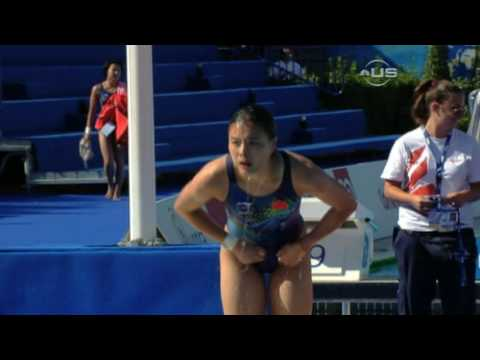 Wu Minxia takes silver in 1 meter from Universal Sports