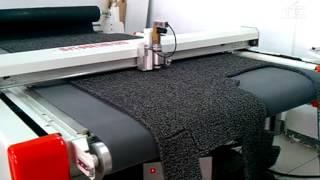 планшетный режущий плоттер - резка вспененной резины, резиновые коврики(, 2014-11-03T07:12:51.000Z)