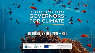[ENGLISH CHANNEL] I International Governors for Climate Meeting