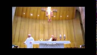 FCRM150202 PE RD GB AD S MESSA 02 Febbraio 2015 Padre Eugenio Caputi CRISTO RE Martina F