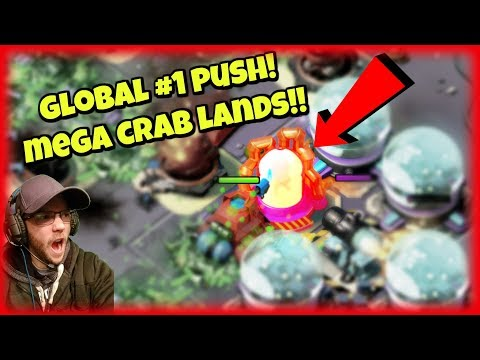 TRIBAL MEGA CRAB RISES! :: Global #1 Push :: Boom Beach Monthly Event!