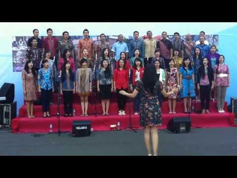 BMPD Jawa Timur Choir - Indonesia Raya (Rehearsal)