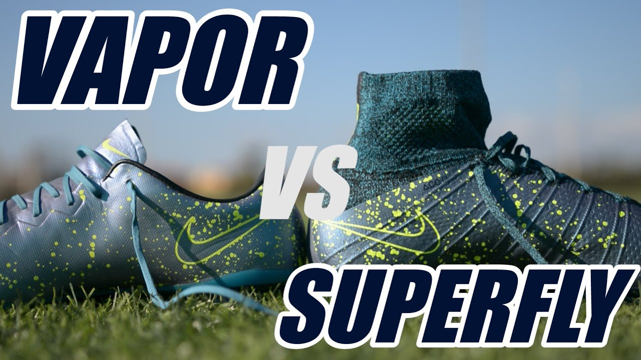 32d0f3197a2 Nike Mercurial  Superfly IV vs Vapor X
