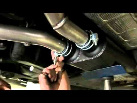 Dodge Charger Flowmaster Cat Back Exhaust Install Youtube