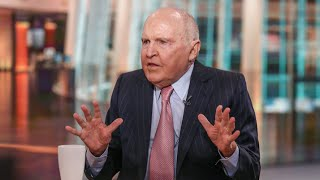 Jack Welch Would Vote For 'Just About Any Human Being' Over Hillary Clinton