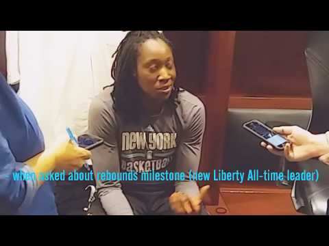 Tina Charles post-game interview (7-14-17)