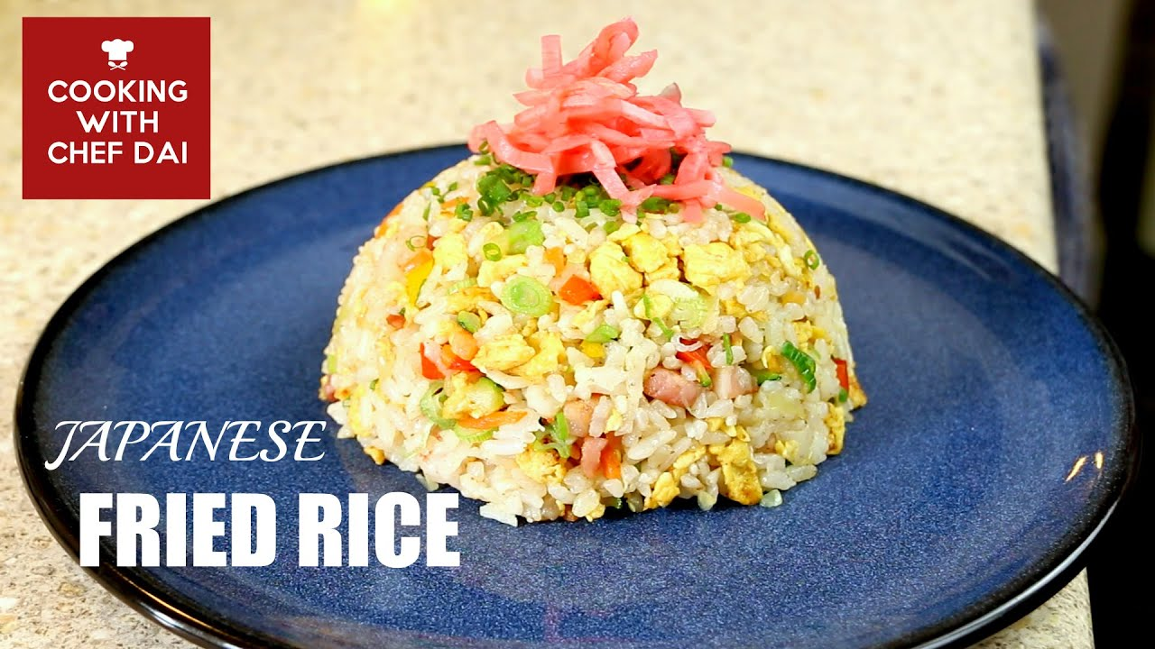 Japanese fried rice cha han recipe cooking japanese fried rice cha han recipe cooking with chef dai how to make youtube ccuart Images