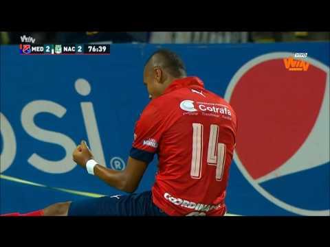 Medellín 4 - 3 Nacional | Fecha 20 Liga Aguila 2017-I | Win Sports
