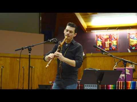 Timothy JP Gomez plays an Improvisation on a high