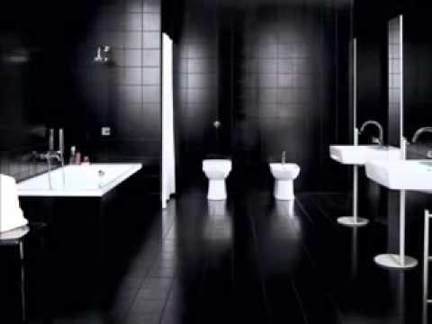 20 Best Pure Black Bathroom Designs
