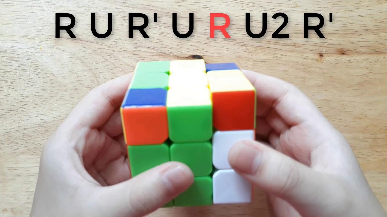 Hướng dẫn giải rubik 3×3 cơ bản.