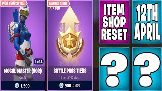 The Newest Fortnite Item Shop Daily Reset 12th April | Mogul Master, Battle Pass Tiers