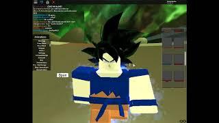 Goku vs Jiren in our own way\Roblox\part 1