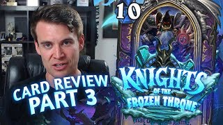 (Hearthstone) Knights of the Frozen Throne: Card Review Part 3 - Shaman, Warlock and Warrior