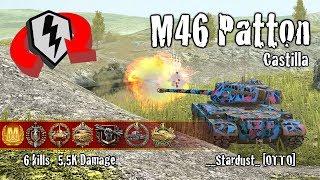 Скачать WoT Blitz M46 Patton 6 Kills 5 5k Damage Replay