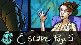Coloring a Comic Page || Escape Page 5
