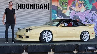 Teleported My S13 To Hoonigan!