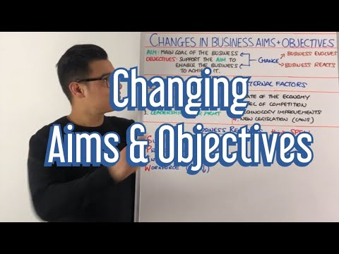Changing Aims & Objectives