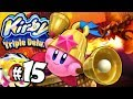 Kirby Triple Deluxe: Deadly Dragons Mike Copy World 5 PART 15 Nintendo 3DS Gameplay Walkthrough