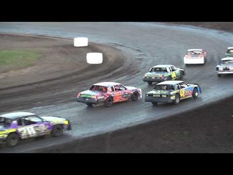 IMCA Hobby Stock feature Benton County Speedway 6/18/17