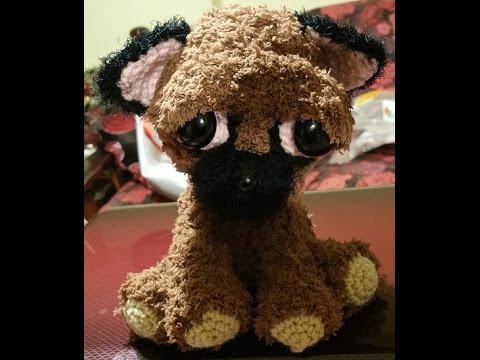 Cagnolino  chiwawa all'uncinetto amigurumi - crochet amigurumi dog - crochet perro