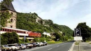 Trains along the Rhine Valley