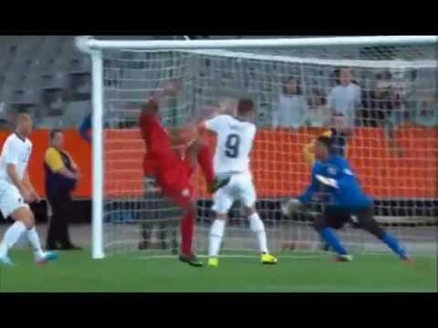 Shane Smeltz Bad Injury New Zealand vs New Caledonia