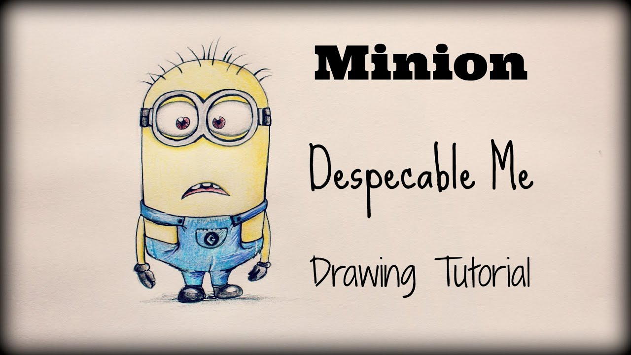 Show me how to draw a minion - Show Me How To Draw A Minion 2