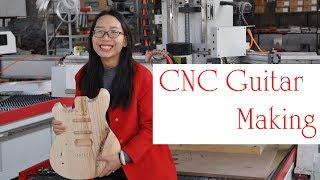 CNC Guitar Making | CNC Wood working Machinery