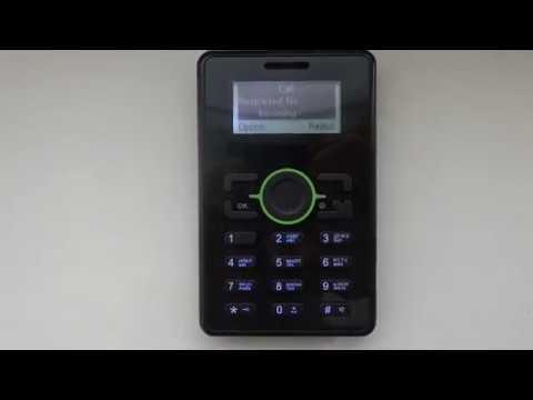 MegaFon MINIFON TDS12-1 Incoming Call