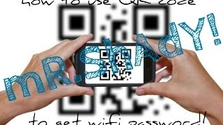 How to share password by QR code  With mi!!