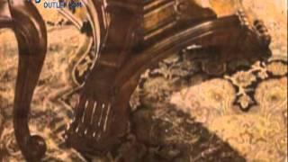 Universal Furniture Villa Cortina Double Pedestal Rectangular Dining
