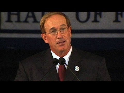 Gary Carter inducted into the Baseball Hall of Fame