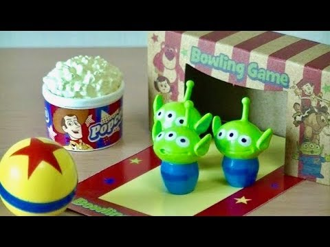 RE-MENT TOY STORY Happy Toy Room Disney Pixar Bowling with friends リーメント トイストーリー ハッピートイルーム
