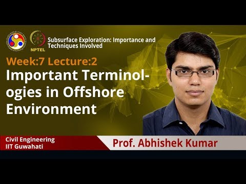 Lecture 18: Important Terminologies in Offshore Environment