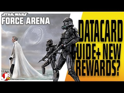 Datacard Guide Tier 3 Against All Odds. Star Wars: Force Arena