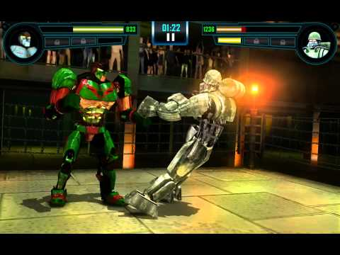 Real Steel WRB Ambush VS Sarge NEW updating